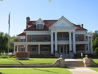 Bartlesville, Oklahoma - Frank and Jane Phillips house (2013)