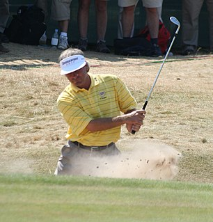 Fred Couples American professional golfer