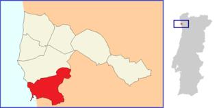 Póvoa de Varzim, Beiriz e Argivai Civil parish in Norte, Portugal