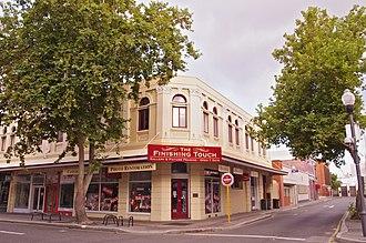 High Street, Fremantle - Adelac Buildings (built 1906) on High Street in 2013