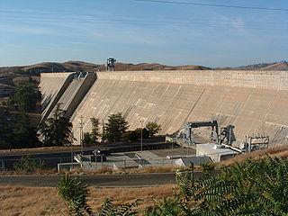 Friant Dam Dam in Madera/Fresno Counties, California
