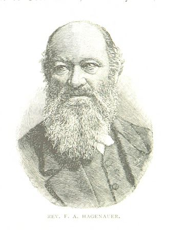 Friedrich Hagenauer - An 1888 illustration of Hagenauer