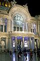 Front portico of Palacio de Bellas Artes at night.jpg