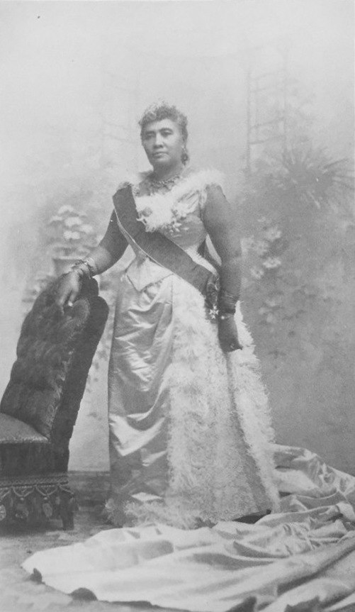 Frontispiece photograph from Hawaii's Story by Hawaii's Queen, Liliuokalani (1898)