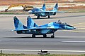 Fulcrum double tapp! Bangladesh Air Force Mig-29s (24887368979).jpg