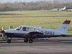 G-BASJ Piper Cherokee (23892578275).jpg