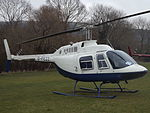 G-FEZZ Bell Jet Ranger 206 Helicopter (25464057653).jpg