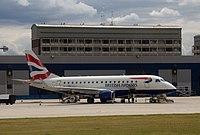 G-LCYE - E170 - BA CityFlyer