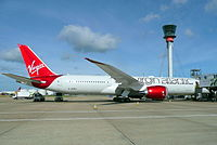 G-VCRU - B789 - Virgin Atlantic Airways