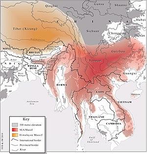 Southeast Asian Massif - Image: GENERAL Massif 2May 2010