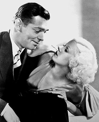 Jean Harlow - Harlow with Clark Gable in Hold Your Man (1933)