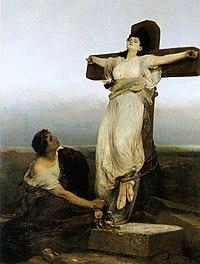 Gabriel Max 1866 St Julia.jpg