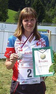 Galina Vinogradova Russian orienteer