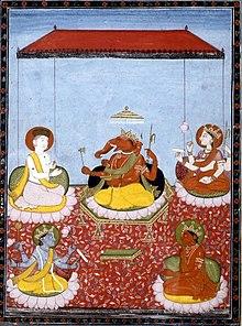 https://upload.wikimedia.org/wikipedia/commons/thumb/0/07/Ganesha_pachayatana.jpg/220px-Ganesha_pachayatana.jpg