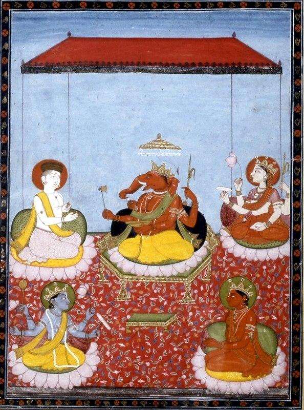 Ganesha pachayatana