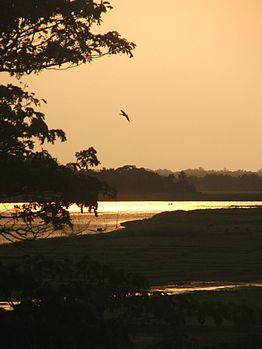 Ganges River Sunset, Mayapur, WB.jpg