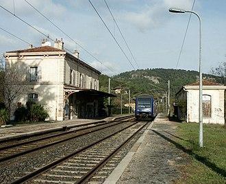 Gonfaron - The railway station in Gonfaron