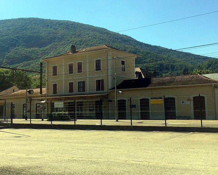 Gare de Virieu-le-Grand - Belley.