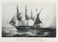 Gaspard Vence, french privateer under American flag.png