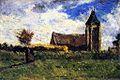 Gauguin 1879 Une Église de campagne.jpg