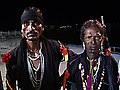 Gavari dance drama characters - Meena bandits.jpg