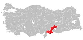 Gaziantep Subregion Subregion in Southeast Anatolia, Turkey