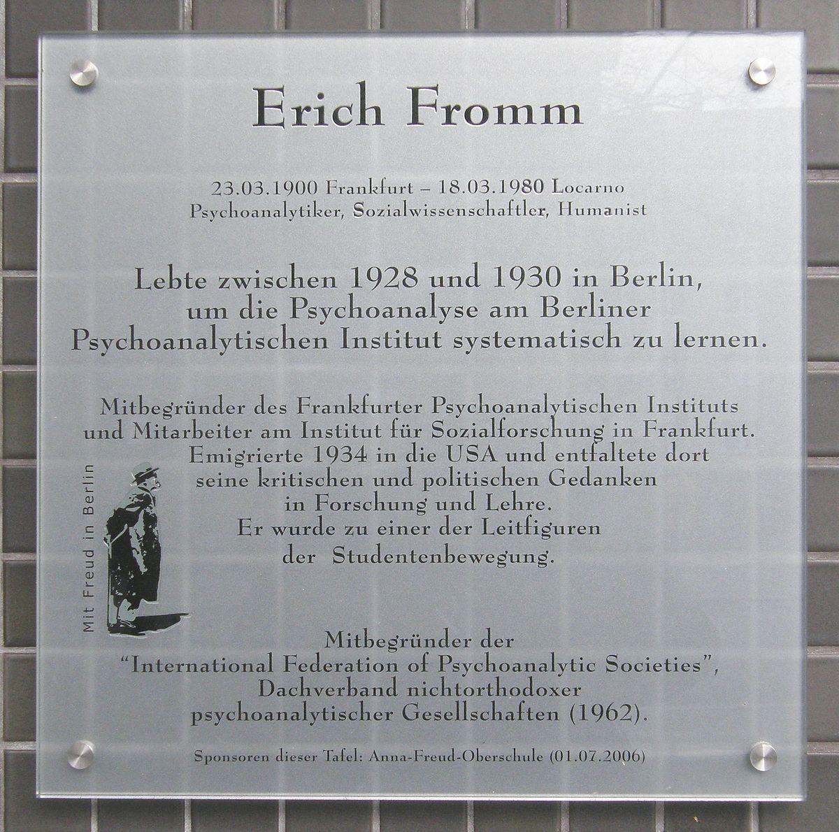 Erich Fromm - Wîkîpediya