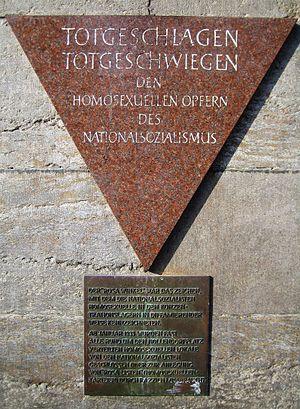 Nollendorfplatz - Pink Triangle memorial