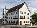 Gemeindehaus Amriswil mit Ochsen.jpg