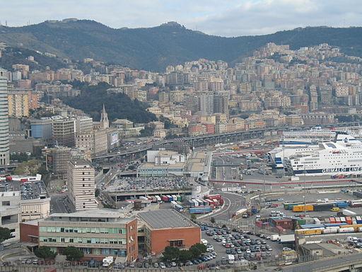 Genova porto-terminal traghetti-IMG 2534