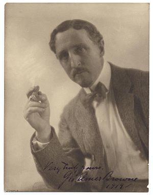 George Elmer Browne - Browne in 1919
