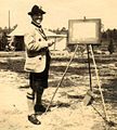George Kenner - artist at Frith Hill PoW Camp 1915.jpg