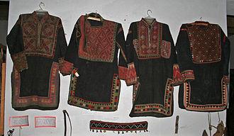 Chokha - Khevsureti chokhas