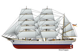 German tallship Gorch Fock