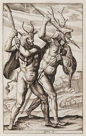 Philipp Clüver - Image: Germaniae antiquae libri tres, Plate 17, Clüver