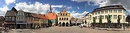 Germany, Nordrhein Westfalen, Kreis Unna, Werne, Markt (1)
