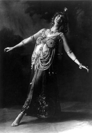 Gertrude Hoffmann (dancer) - Gertrude Hoffman as Salome
