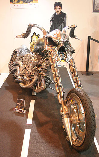Ghost Rider (film) - Ghost Rider's motorcycle, in its supernatural transformed shape.