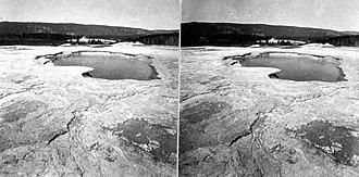 Giantess Geyser - Image: Giantess Geyser Crater YNP1872Jackson