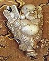 Giappone, periodo edo, netsuke (fermaglio per inroo), xix secolo, 029 bonzo.jpg