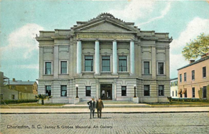 Gibbes Museum of Art - The Gibbes Museum of Art looks virtually identical to its original appearance, seen here in a postcard dated 1907.