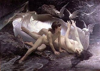 Naiad - Gioacchino Pagliei - The Naiads, 1881