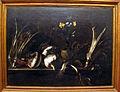 Giovan battista ruoppolo, natura morta con ortaggi, fisca e fiori, 1660-0, Q1203.JPG