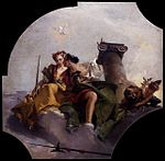 Giovanni Battista Tiepolo - Fortitude and Justice - WGA22300.jpg