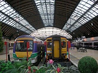 Glasgow Queen Street railway station - High level platforms