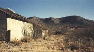 Gleeson, Arizona - Remains of Gleeson