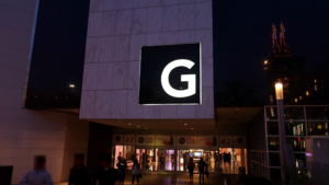 Glendale Galleria - The front entrance to the Glendale Galleria
