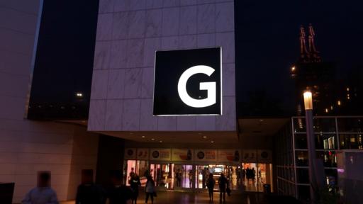 Glendale Galleria Entrance at Sunset