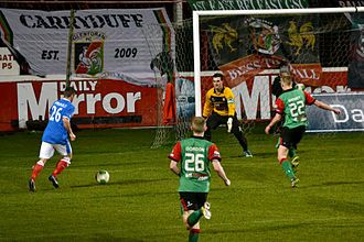Belfast's Big Two - Linfield play Glentoran at TheOval in 2014