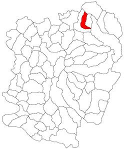 Vị trí của Glimboca